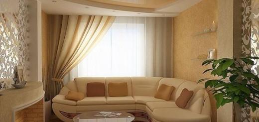 Натяжной потолок в комнате для гостей