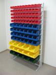 Какие преимущества стеллажей с пластиковыми ящиками
