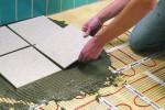 Как укладывать теплый пол под плитку