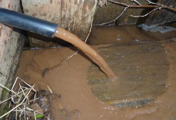 ржавая вода из скважины