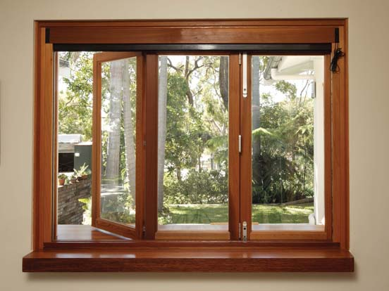 selection of wooden windows