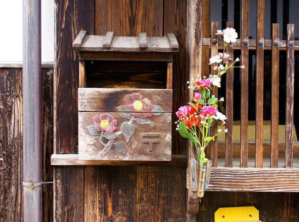 Декоративный почтовый ящик своими руками 42