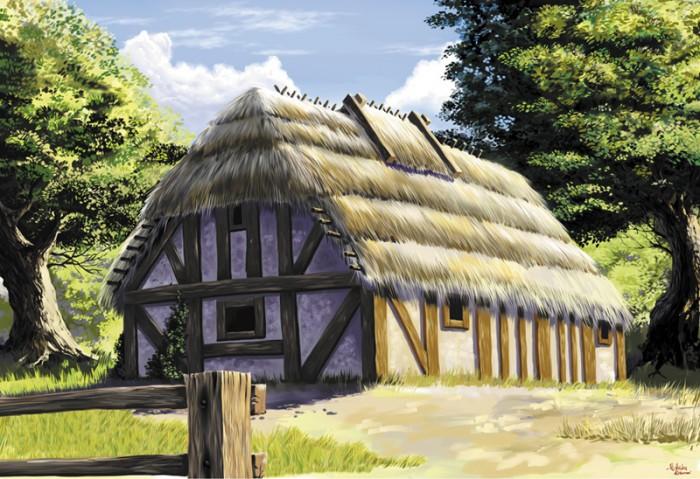 Саломенная крыша