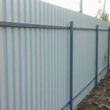Дешевый забор для частного дома